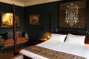 Un ou plusieurs lits dans un hébergement de l'établissement Le Loft