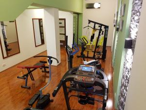 Фитнес-центр и/или тренажеры в Hotel Centar