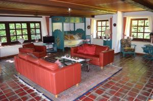Lobby/Rezeption in der Unterkunft Ferienhaus unter Reet
