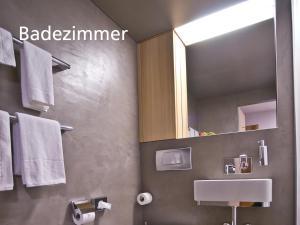 Ein Badezimmer in der Unterkunft Kartause Ittingen