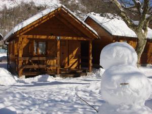 Camping Prado Verde during the winter