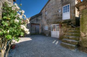 Um pátio ou outra área exterior em Casa Entre as Serras
