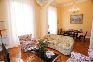 Area soggiorno di Residenza Arrivabene