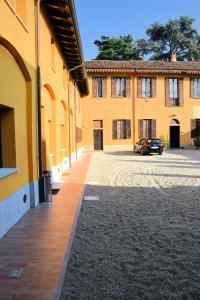 Facciata o entrata di Corte Certosina