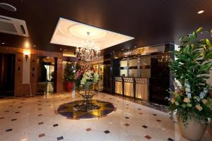 The lobby or reception area at HOTEL AN Shinjuku Kabukicho (Adult Only)