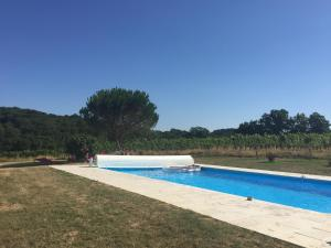 The swimming pool at or near Maison du Guit