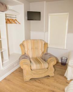 The lounge or bar area at Doireliath