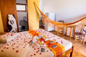 Breakfast options available to guests at Cumbuco Kite in Paradise e Hospedaria