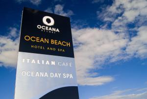 A certificate, award, sign or other document on display at Ocean Beach Hotel & Spa - OCEANA COLLECTION