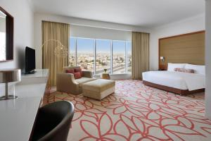 A room at Marriott Hotel Downtown Abu Dhabi