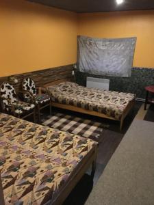 Istumisnurk majutusasutuses Tolli Hostel & Holiday House