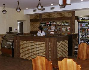 Лаундж или бар в Отель Телега