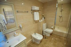 Ванная комната в Hotel El Paraiso
