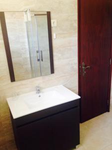 A bathroom at Hospedaria Estação