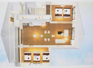 The floor plan of Estate Tokyu Nishikyogoku