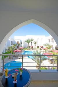 A balcony or terrace at Palm Djerba Appartments