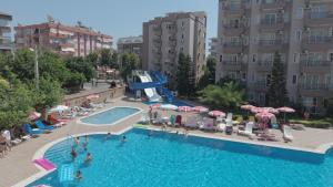 A view of the pool at Club Sidar Apart Hotel or nearby