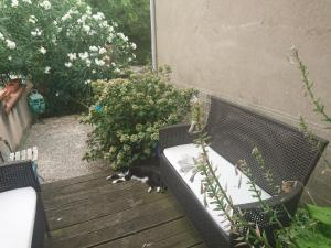 A porch or other outdoor area at Chambres d'Hôtes Le Vol à Voile
