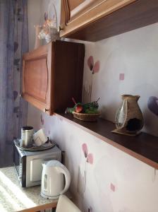Кухня или мини-кухня в Апартаменты Золотодолинская 21