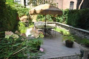 A porch or other outdoor area at Home NYC