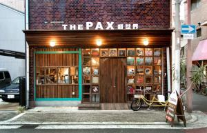 The facade or entrance of The Pax Hostel