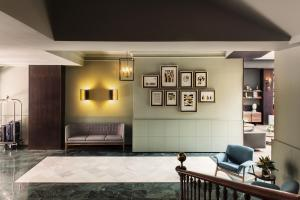The lobby or reception area at TÓTEM Madrid, a Small Luxury Hotel of the World
