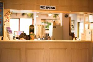 The lobby or reception area at Stay Inn Manchester