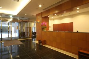 The lobby or reception area at Seaside Hotel Twins Momochi