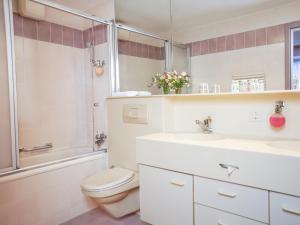 Ванная комната в Thermal Hotels & Walliser Alpentherme Leukerbad