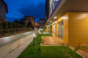Ogród w obiekcie Baltic Sands - Aparthotel