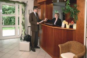 Lobby/Rezeption in der Unterkunft Hotel Gasthaus Bock