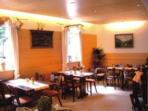 Ein Restaurant oder anderes Speiselokal in der Unterkunft Hotel Gasthaus Bock