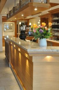 The lobby or reception area at Gasthof Engel