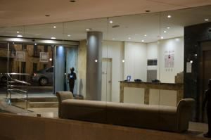 The lobby or reception area at Hotel San Polo