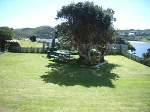 A garden outside Arthur River Holiday Units
