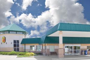The facade or entrance of Super 8 by Wyndham Portage La Prairie MB