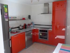 Una cocina o zona de cocina en Attic at 91