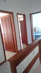 A bed or beds in a room at Apartamento de 3 quartos a 200m da praia