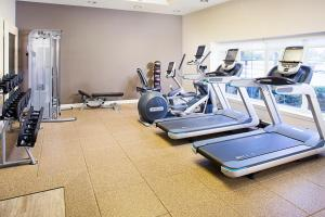 The fitness center and/or fitness facilities at Embassy Suites Destin Miramar Beach