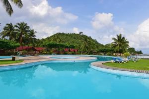 The swimming pool at or near Pestana Equador