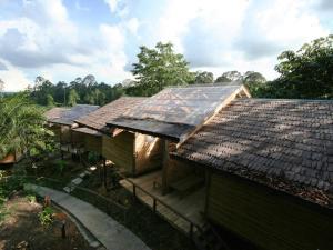A bird's-eye view of Paganakan Dii Tropical Retreat
