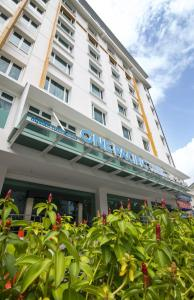 The facade or entrance of One Pacific Hotel and Serviced Apartments