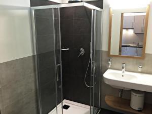 Ein Badezimmer in der Unterkunft Residence Egger
