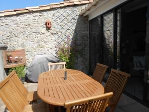 A porch or other outdoor area at Apartment Le Tranquille