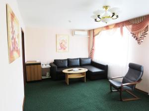 Гостиная зона в Гостиница Юбилейная