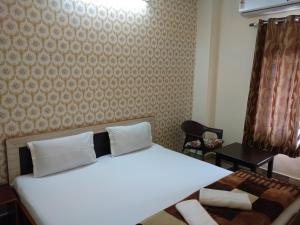 A room at Madhav Guest House
