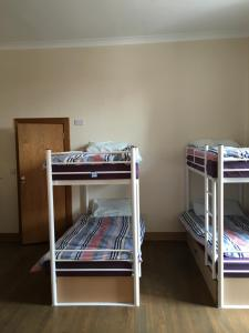 A bunk bed or bunk beds in a room at Soprano Hostel