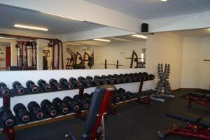 The fitness center and/or fitness facilities at Kramfors Stadshotell AB