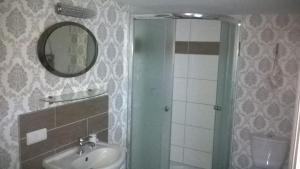 Ein Badezimmer in der Unterkunft Ferienwohnung Nähe Altstadt