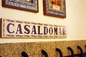 Certificado, premio, señal o documento que está expuesto en Casaldomar